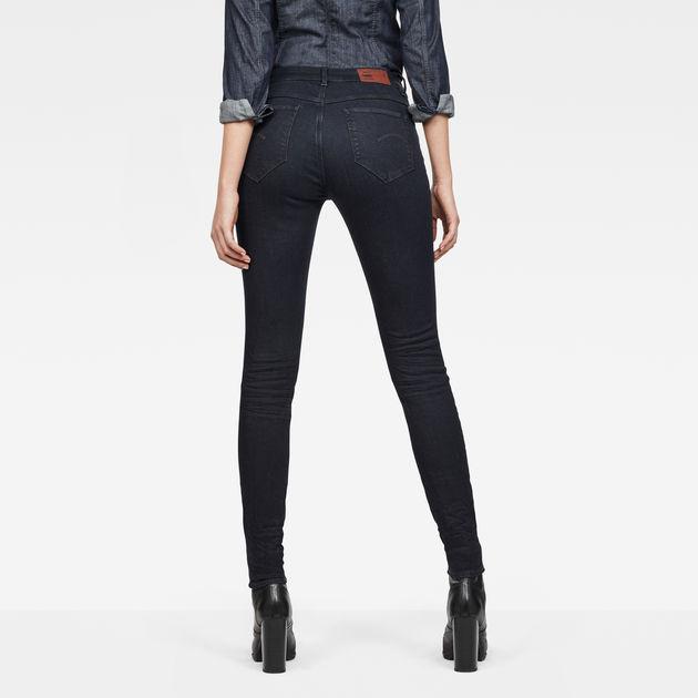 g-star damen jeans shape high super skinny