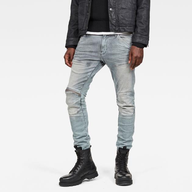 G-Star Mens 5620 Elwood 3D Zip Knee Skinny Jeans