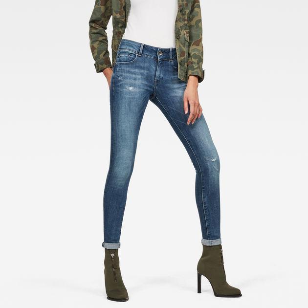 Midge Cody Mid Waist Skinny Jeans