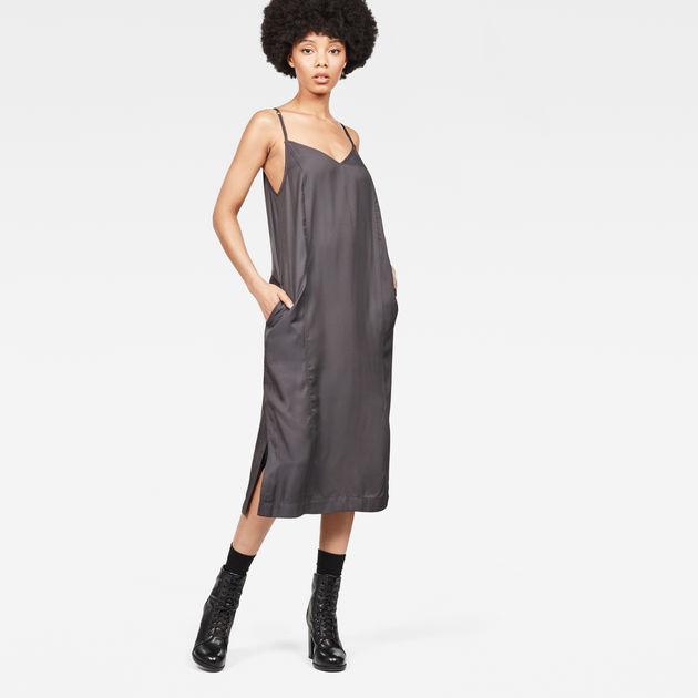 39a0cfef3001 Core slip Dress Sleeveless   Shadow   Women   G-Star RAW®