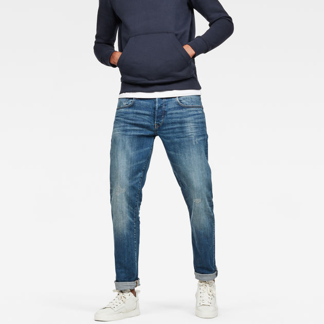 3301 Straight Tapered Jeans | Light Aged | Men | G Star RAW®