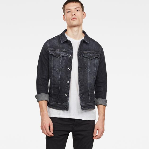 15a939133ad38 3301 Deconstructed 3D Slim Jacket | Dark Aged | Men | G-Star RAW®