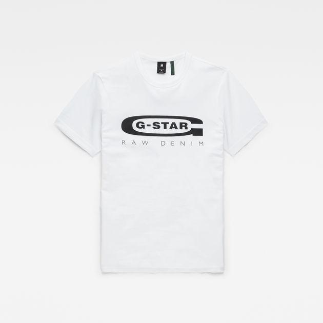 3a816cdd5ebb Graphic Logo 4 T-Shirt | White | Men | G-Star RAW®