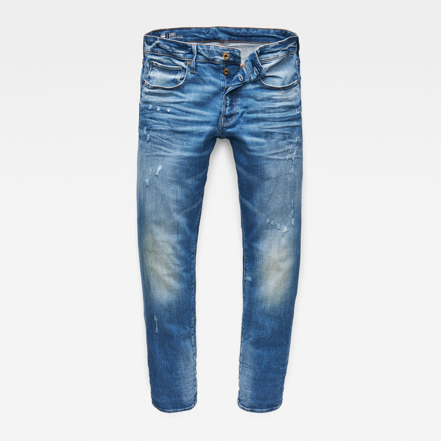 3b06bee77e5 3301 Straight Tapered Jeans | G-Star RAW®