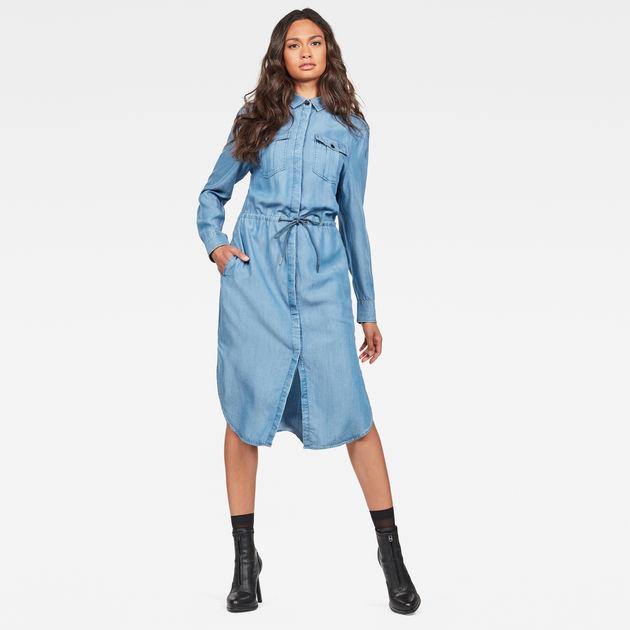 cheaper d824d 36874 Rovic Maxi Shirt Kleid