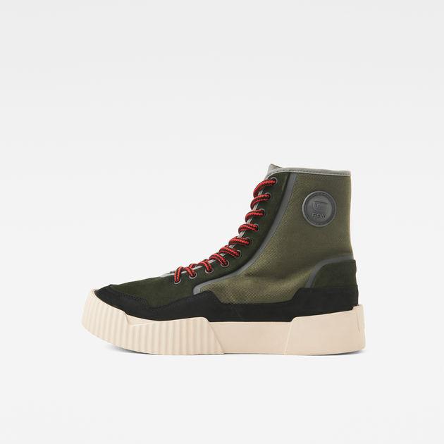 Rackam Scuba High II Sneaker in 2020 | G star raw boots
