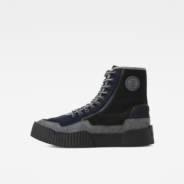 Rackam Scuba High II Sneakers | Dark