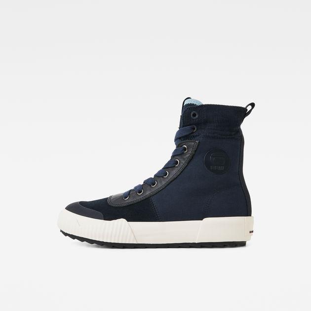 G Star High Top Sneaker für Herren, Modell: Flache Sneaker