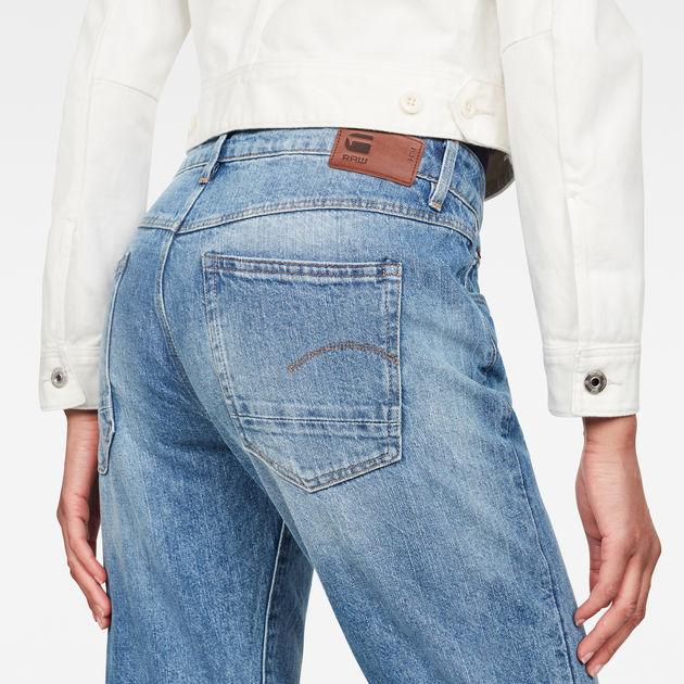 Jean Kate Boyfriend | Authentic Faded Blue | Femmes | G Star