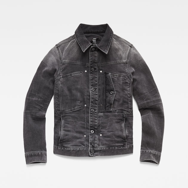 3301 Jacket Antic Charcoal G Star Raw