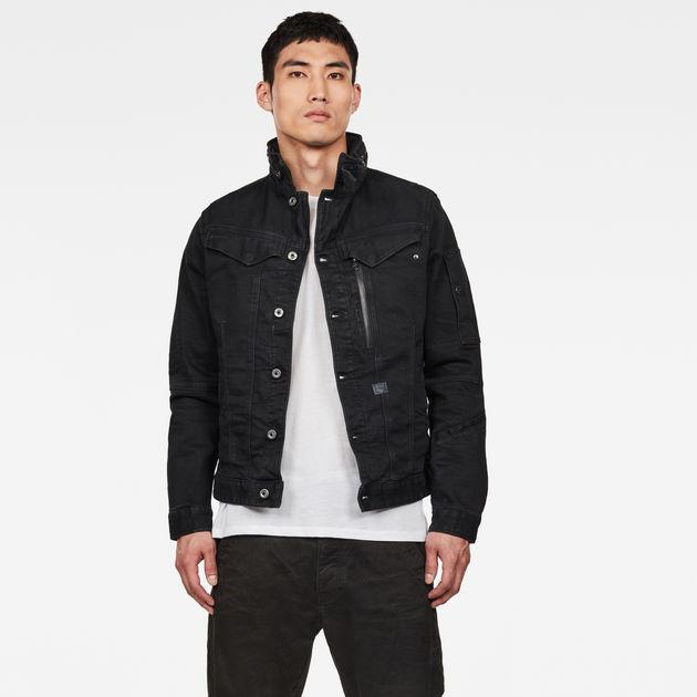 chaqueta de punto con capucha g-star raw