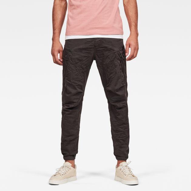 Gstar Bronson 3D Low Waist Tapered Pants Red, Dressinn