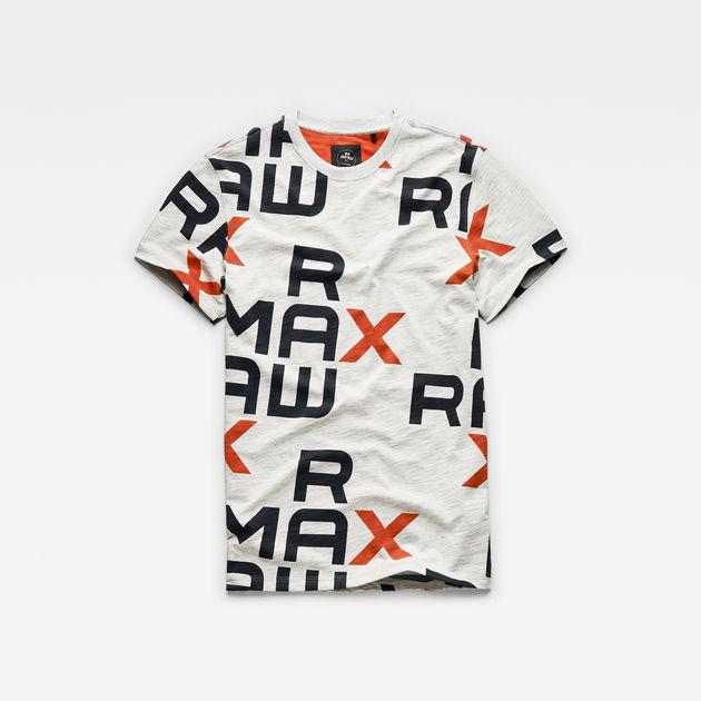 MAXRAW III Graphic T Shirt | Light Grey Heather Ao | G Star RAW®