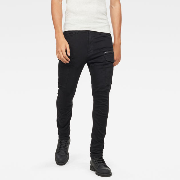 G STAR D15490 B472 ROVIC ZIP PANTALON Homme BLACK
