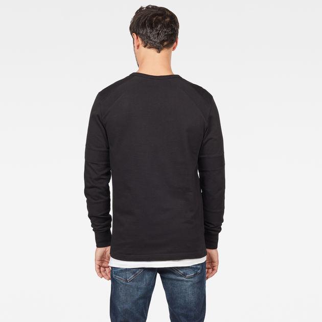 G-Star Men/'s Sipphon Motac Longsleeved T-Shirt Black