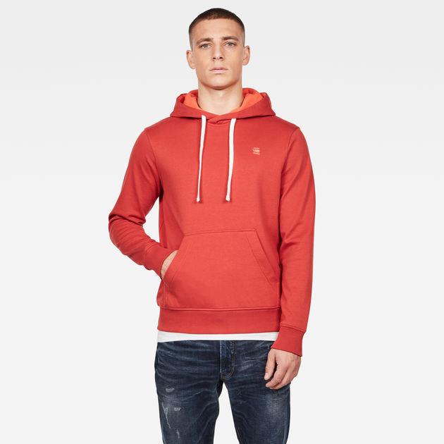 2 Tone Sweater | Antic Red | Heren | G Star RAW®