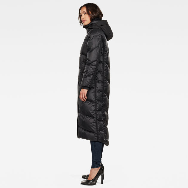 G-STAR RAW Whistler Hooded Down Long Parka Mujer