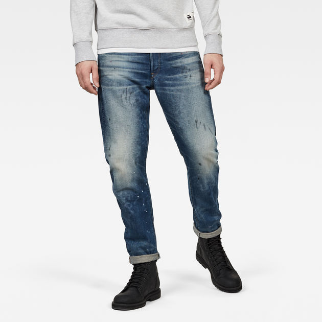 manteau G Star soldes, G Star 3301 LOW TAPERED Jean droit