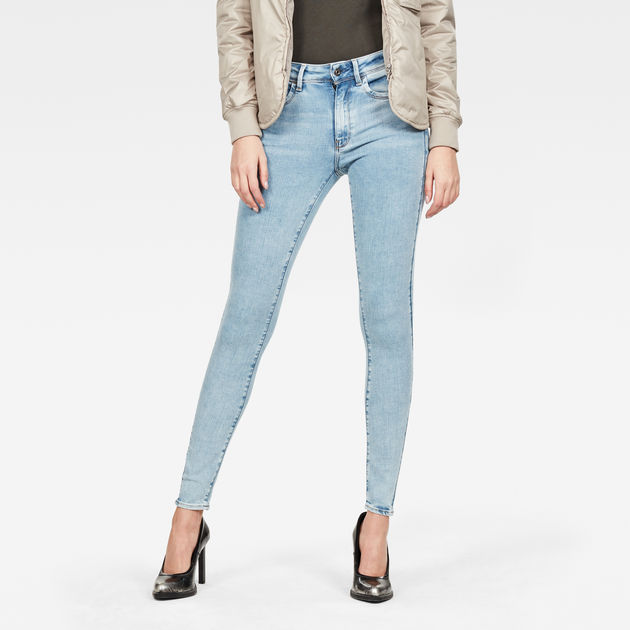 Damen Lhana High Waist Super Skinny Jeans