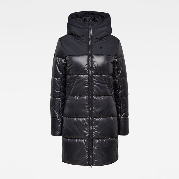 Doudoune longue Quilted Hooded