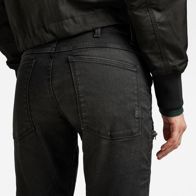 G-STAR RAW femme D-staq 5 Poche-Mi Taille Skinny Jeans-Noir 29 W//32 L