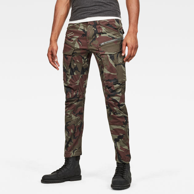 Men's Rovic 3D Straight Tapered Fit Cargo Pants | Cargo