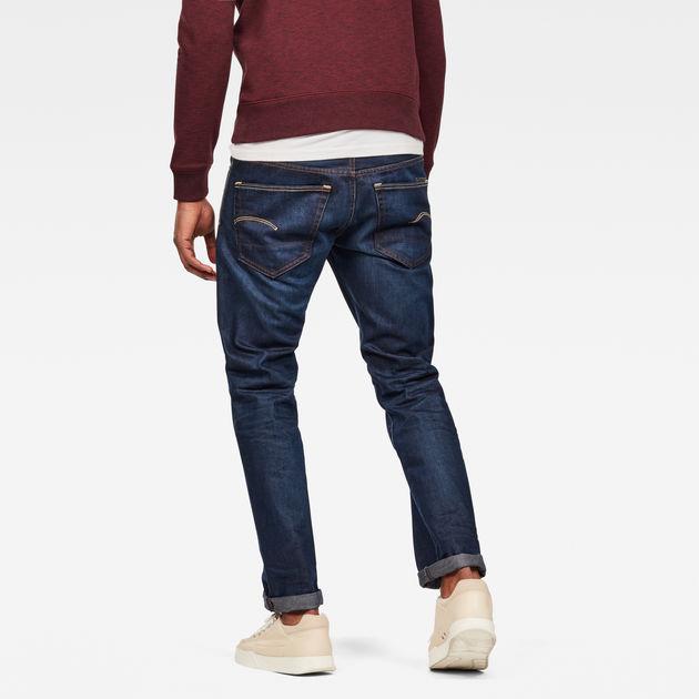 3301 Straight Jeans Dark Aged G Star Raw