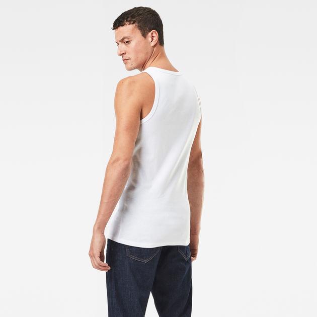 G-Star Mens Premium Slim Fit Tank Top
