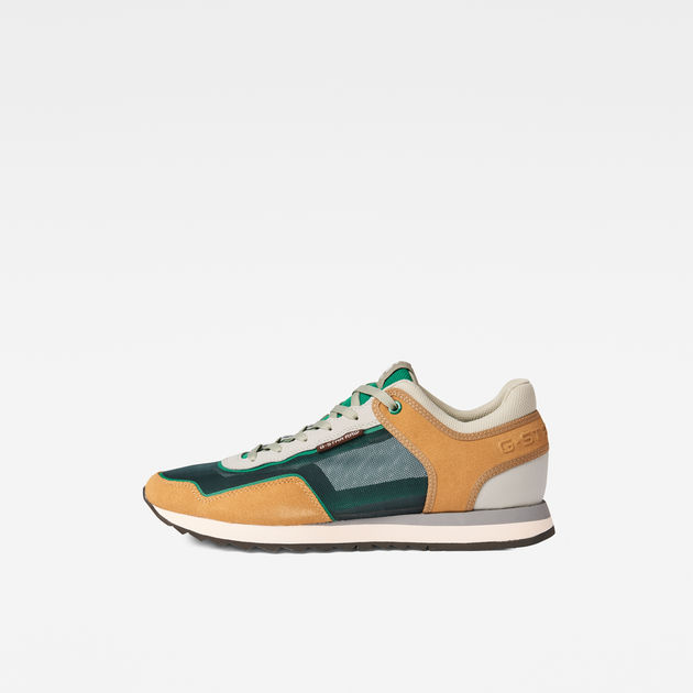 Calow II Mesh Sneakers | balsam/bamboo