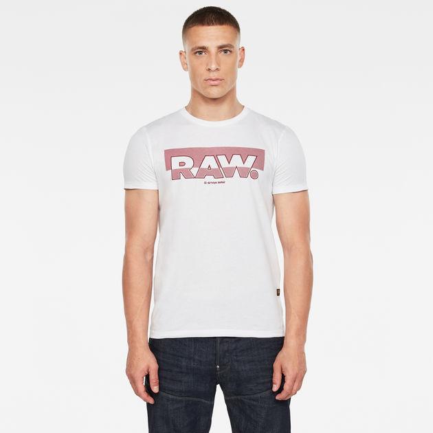G-STAR RAW Raw Graphic Slim Camiseta para Hombre