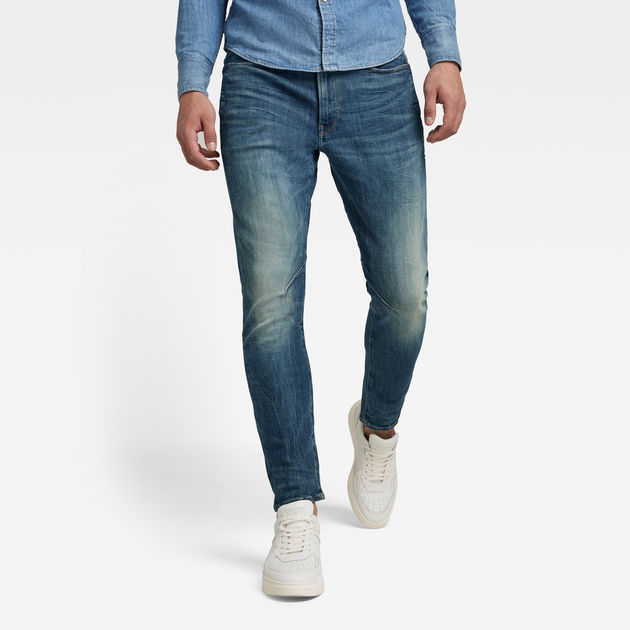 Blue G-Star Men/'s D-Staq 3D Slim Fit Jeans
