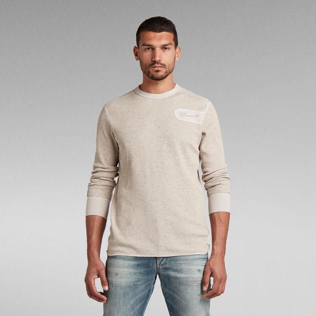 G STAR Homme Neuf Coupe Standard Noir Heather xxl T Shirt RRP £ 30