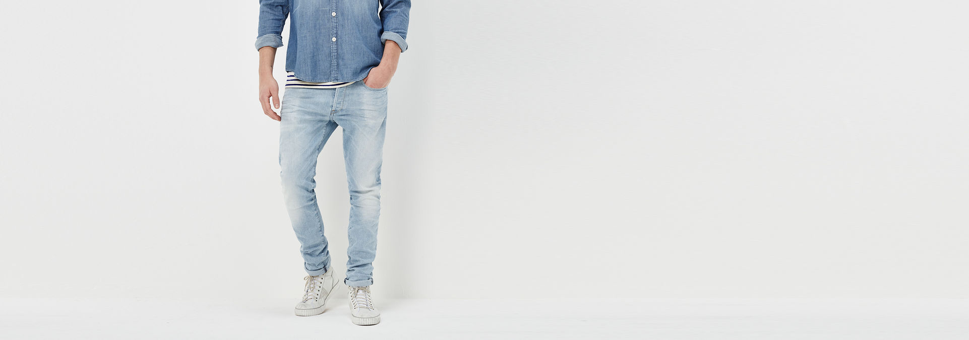wholesale price designer fashion great prices 3301 Straight Tapered Jeans | Light Aged | Men | G-Star RAW®