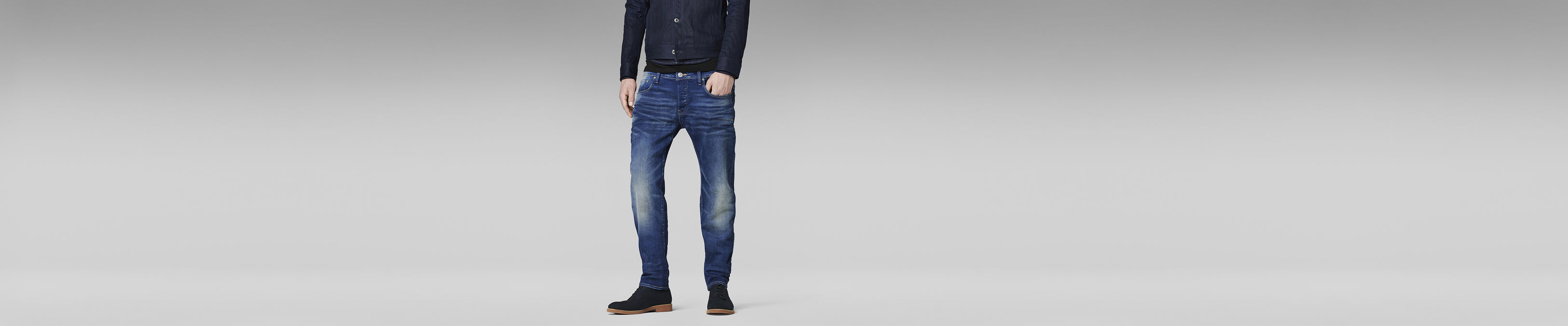 3301 Low Tapered Jeans | Medium Aged | Hommes | G Star RAW®