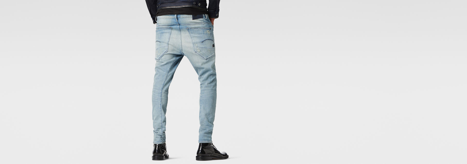 JEANS  G-STAR TYPE C 3D SUPER SLIM dk aged TAILLE W33 L34  VALEUR 130€
