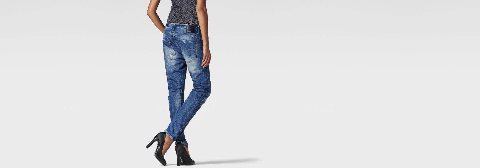 7cd97ab4c05 Arc 3D Tapered Jeans | Medium Aged Destroy | Women | G-Star RAW®