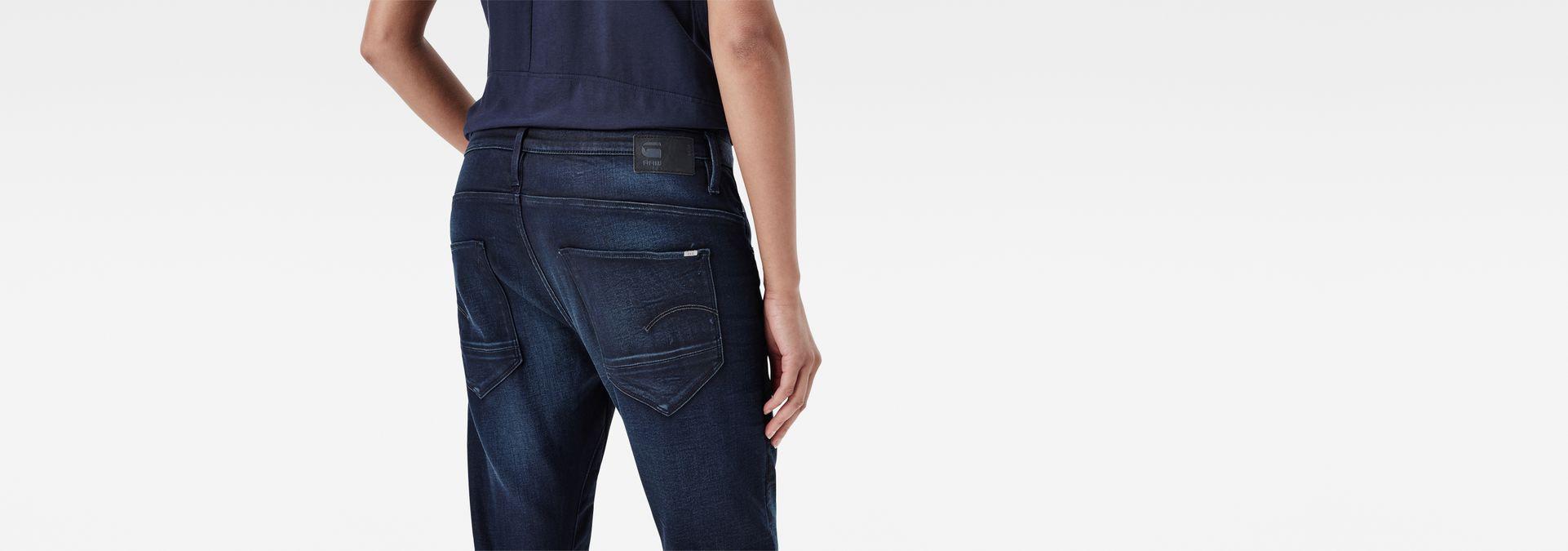 0ccdc2c33d5 ... G-Star RAW® New Arc 3D Button Low Waist Boyfriend Jeans Dark blue ...