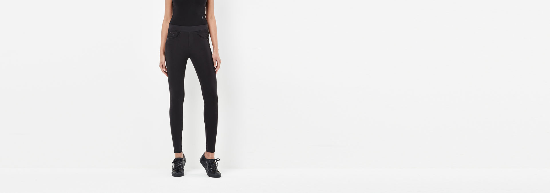 Base Ultimate Stretch Legging | Black | Women | G Star RAW®