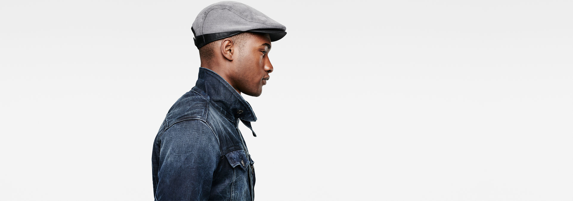 G-Star RAW® Filler Flat Cap Grey ... 6d6cc459b45