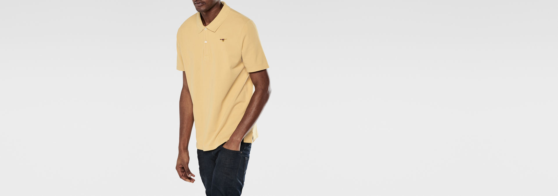 G-Star Raw Mens Nuelik Short-Sleeve Polo Shirt