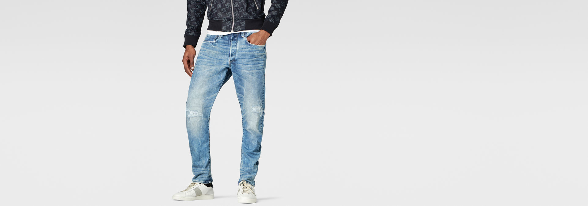 Raw For The Oceans Type C 3D Tapered Jeans | G Star RAW®