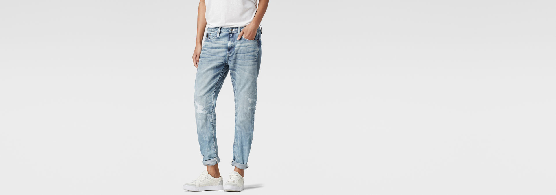 RAW for the Oceans Type C 3D Low Boyfriend Jeans | G Star RAW®
