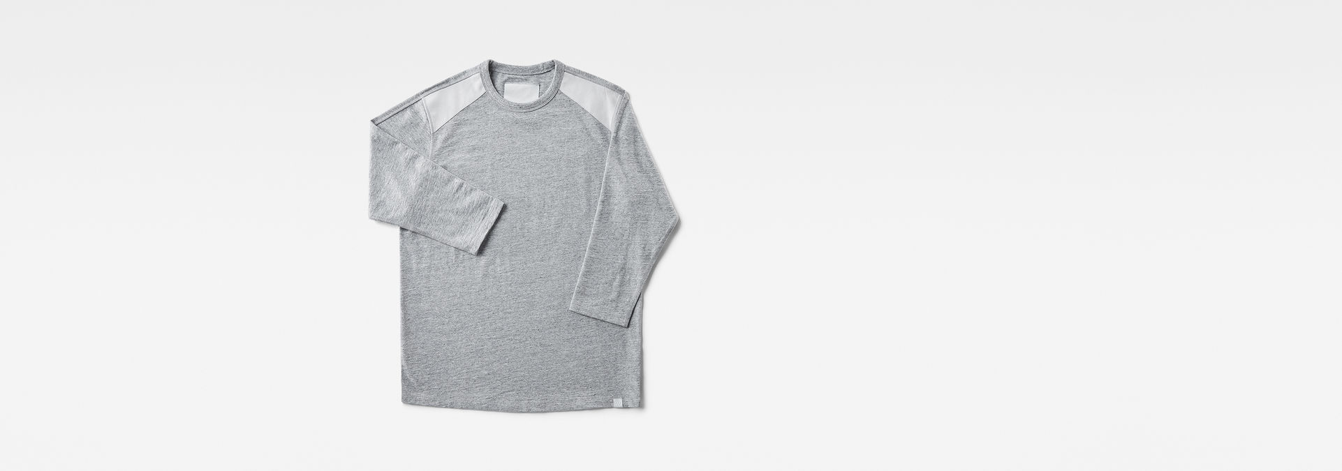 Marc Newson Leather Patch 34 Sleeve T Shirt   G Star RAW®