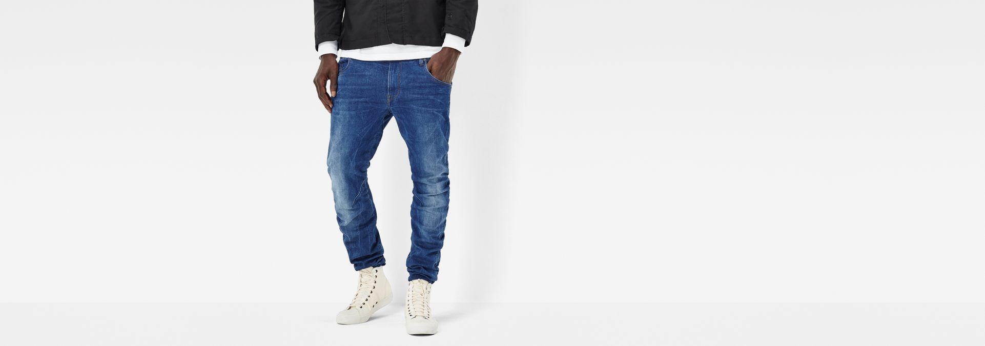 358964c9204 G-Star RAW® Arc 3D Sport Tapered Pants Medium blue model front ...