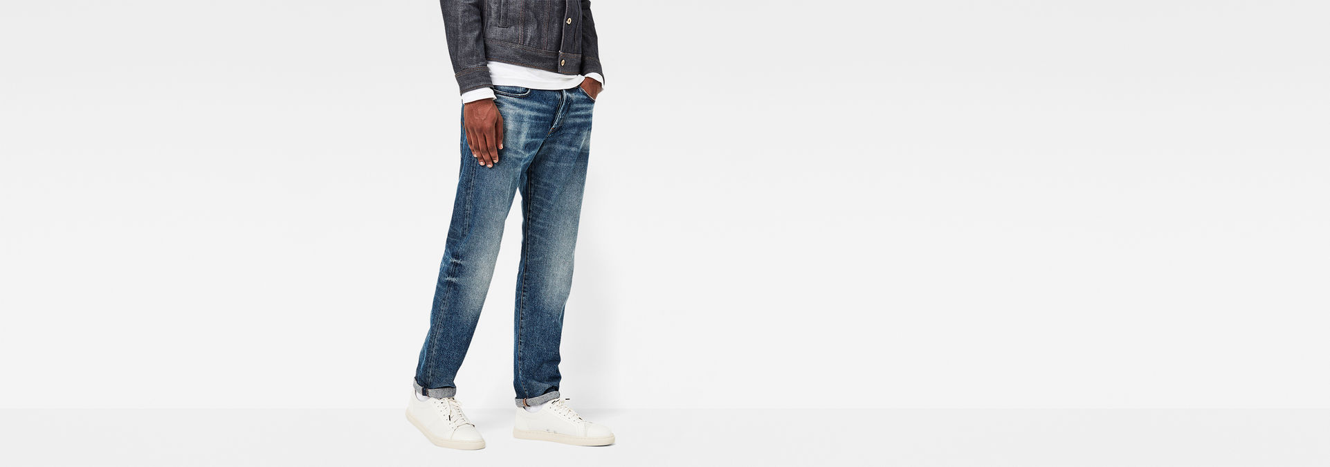 Riban Tapered Jeans | Medium Aged | Hommes | G Star RAW®