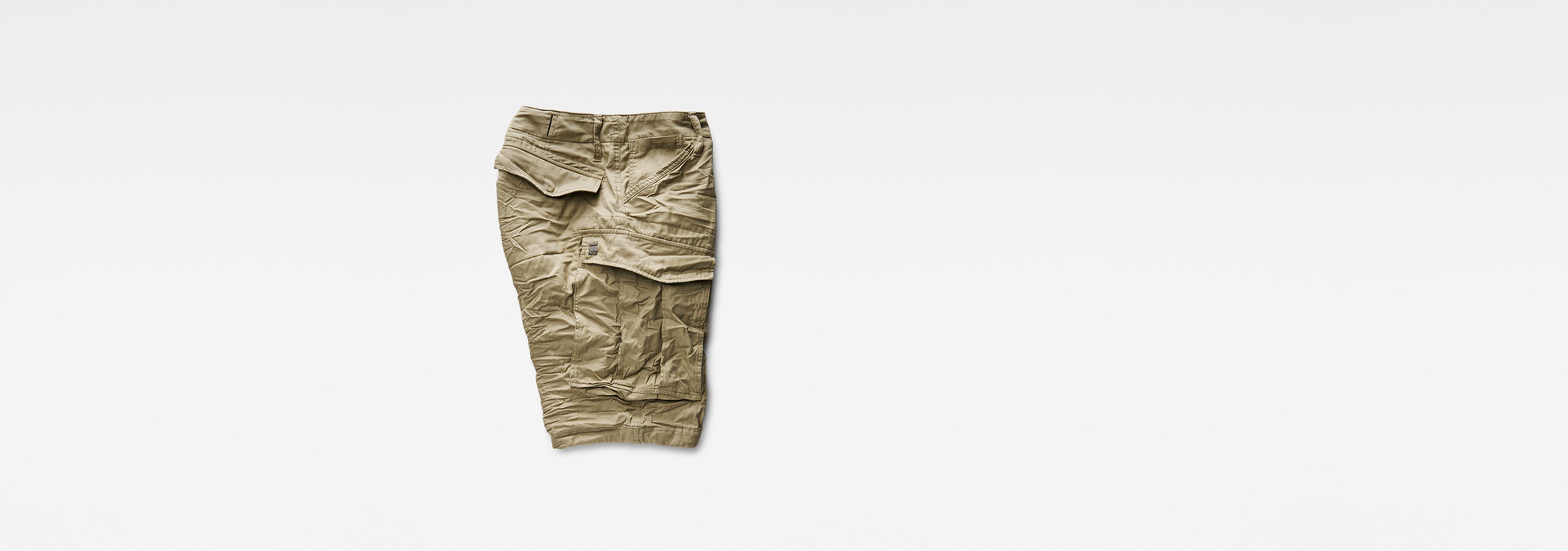 e38d8cdb98 ... G-Star RAW® Rovic Zip 1/2 Shorts Beige flat back