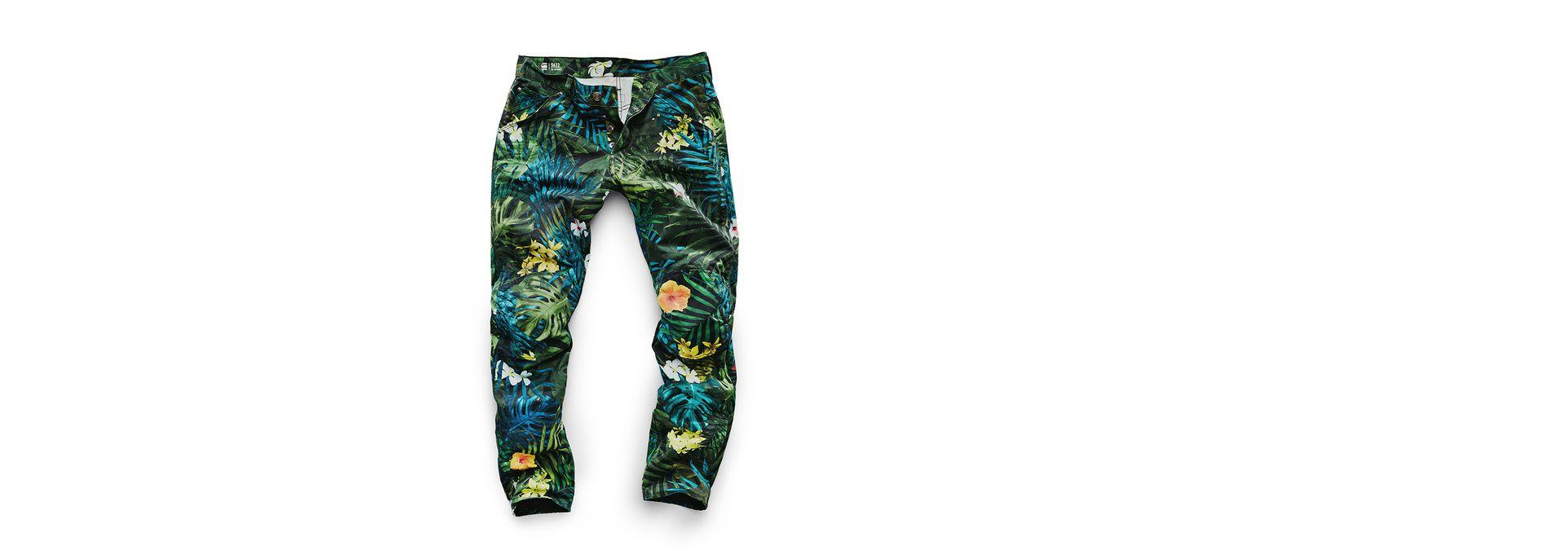 19b2849b405 G-Star RAW® G-Star Elwood X25 3D Tapered Men's Jeans Green ...