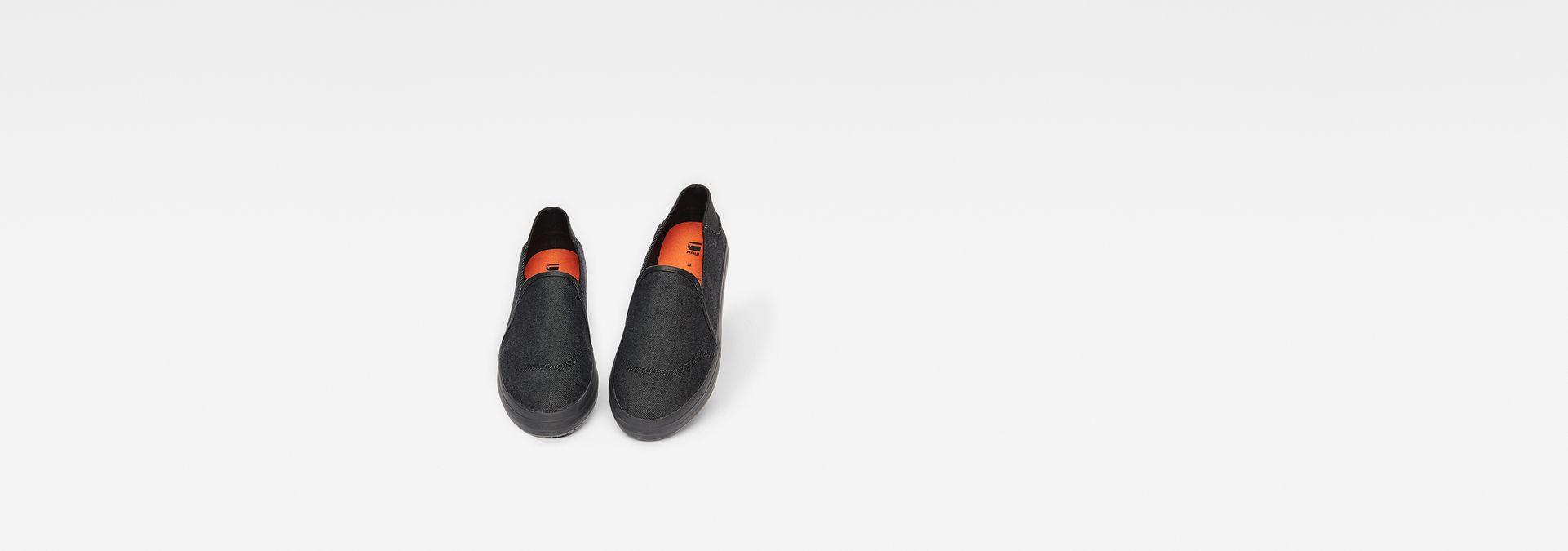 b6de5e5665a G-Star RAW® Kendo Mono Slip-On Sneakers Black side view ...