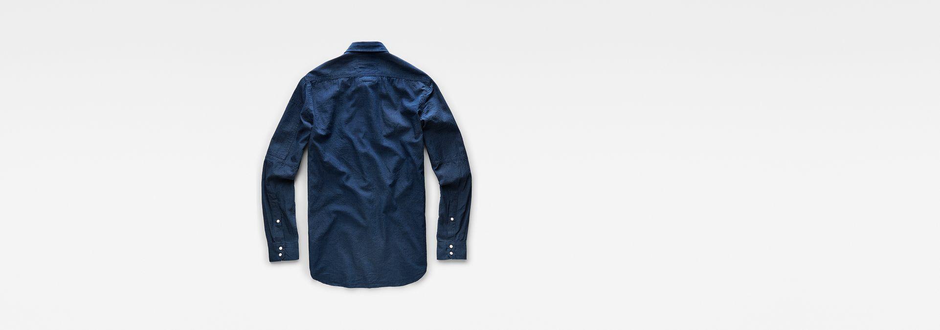 6764a8560 ... G-Star RAW® Stalt Clean Denim Shirt Dark blue