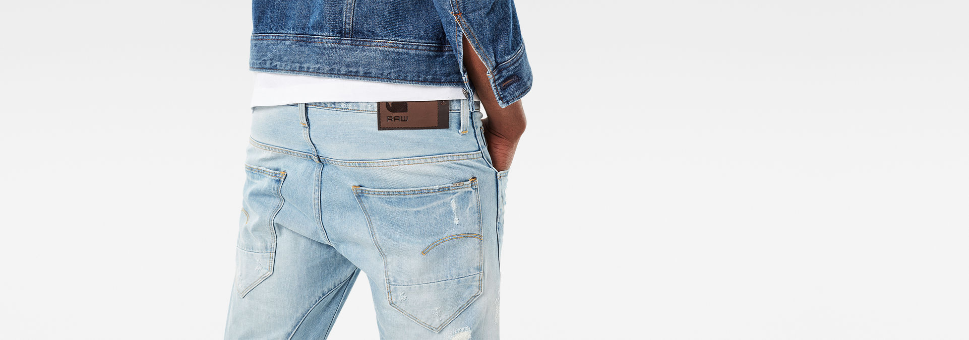 G Star Arc 3D Slim Wisk denim Jeans Slim Homme